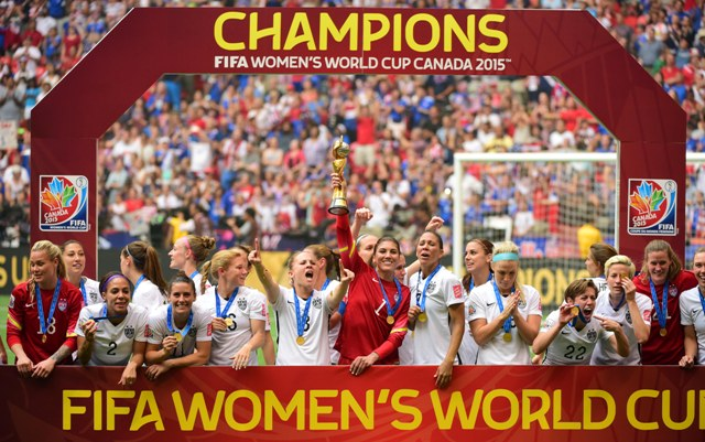 Fifa women s world cup 2015 carli lloyd revelling in surreal moment