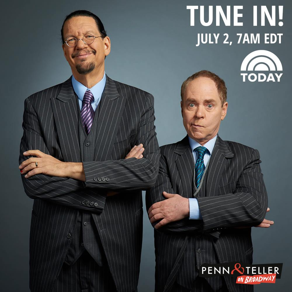 penn and teller dating trick