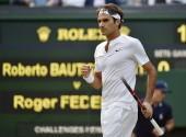 Roger Federer Wimbledon 2015