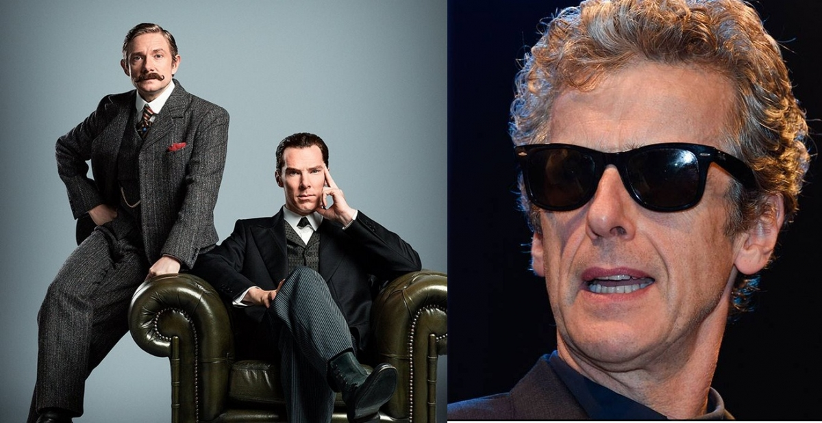 Doctor Who'/'Sherlock' Crossover for Christmas Special?
