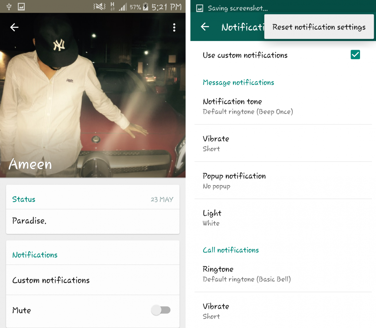 how to change unread message in whatsapp