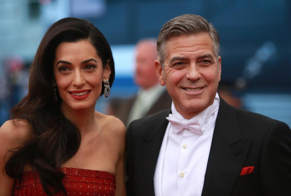 George Clooney-Amal Alamuddin wedding anniversary: Actor's ...