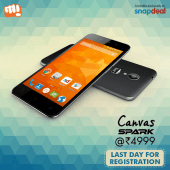 Rs 4,999 Micromax Canvas Spark Flash Sale: Snapdeal To Host Exclusive Sale On 5 August At 12PM