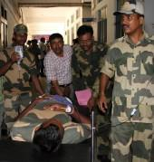 Militants attack BSF convoy samroli