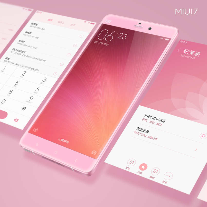 good news xiaomi redmi note 2 miui 7 phone back