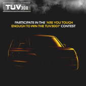 Mahindra TUV300 Contest Launched