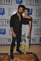 Shahid Kapoor – Mira Rajput Make First Appearance On Ramp Together For Masaba Gupta At LFW 2015