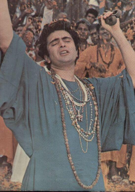 Rishi kapoor rare photo for Chintu khan