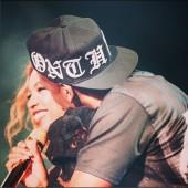 Jay Z and Beyonce during aperformance at Seattle