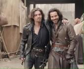 Athos and Aramis from 'The Musketeers'