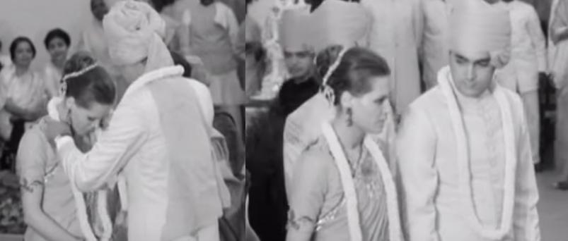 Watch Rajiv Gandhi And Sonia Gandhi S Silent Unseen