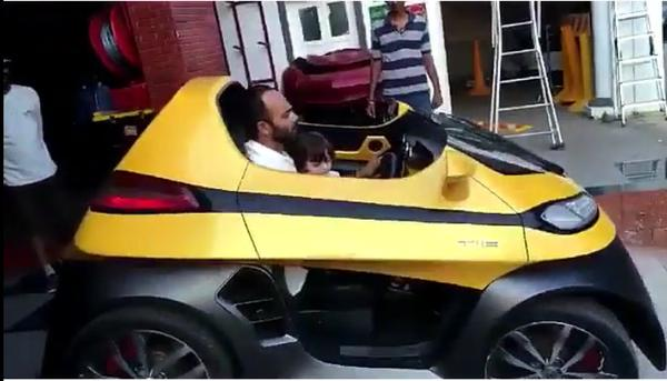 Shahrukh Khan Car Used In Dilwale