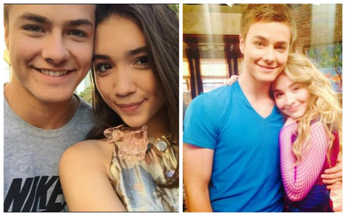 Who is lucas dating in girl meets world