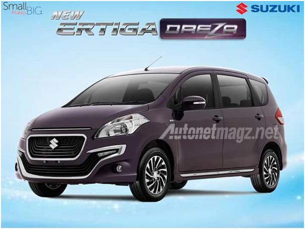 2016 suzuki ertiga dreza brochure leaked vehicle a top