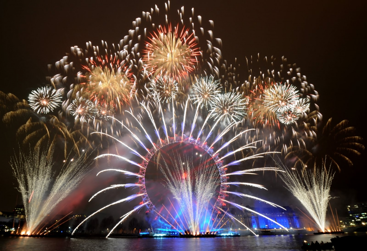 London New Year Celebration