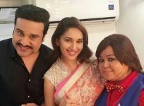 Krushna Abhishek, Madhuri Dixit, Bharti Singh