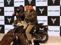 John Abraham launched Yamaha MT-09 in India
