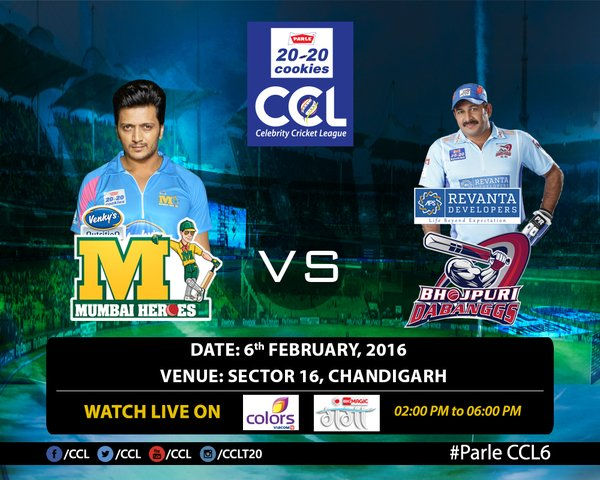 Celebrity Cricket League (CCL) 2014 - News, Match Schedule ...