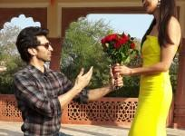 Aditya Roy Kapur and Katrina Kaif celebrate Rose Day in Jaipur