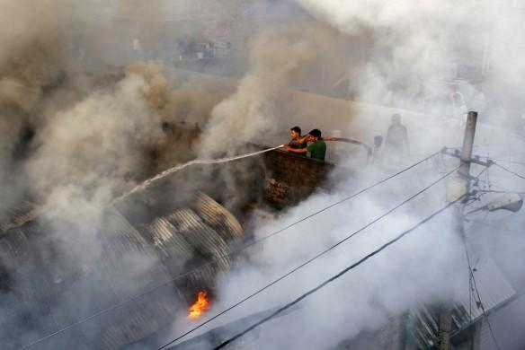 Factory fire India