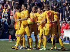 Suarez Neymar Messi Barcelona