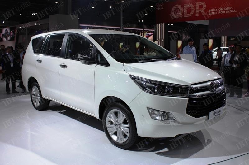 2016 Toyota Innova Crysta Dealer Level Bookings Open For
