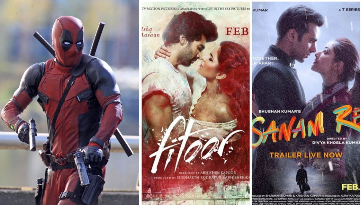 Box office collection 39 sanam re 39 and 39 deadpool 39 show for Dead pool show box