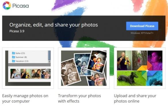 Picasa to be shuttered