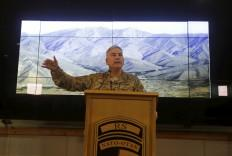 Outgoing commander of international forces in Afghanistan, Gen. John Campbell