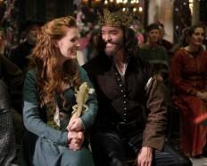King Richard, Roberta and Tad Cooper at Galavant and Isabella's wedding