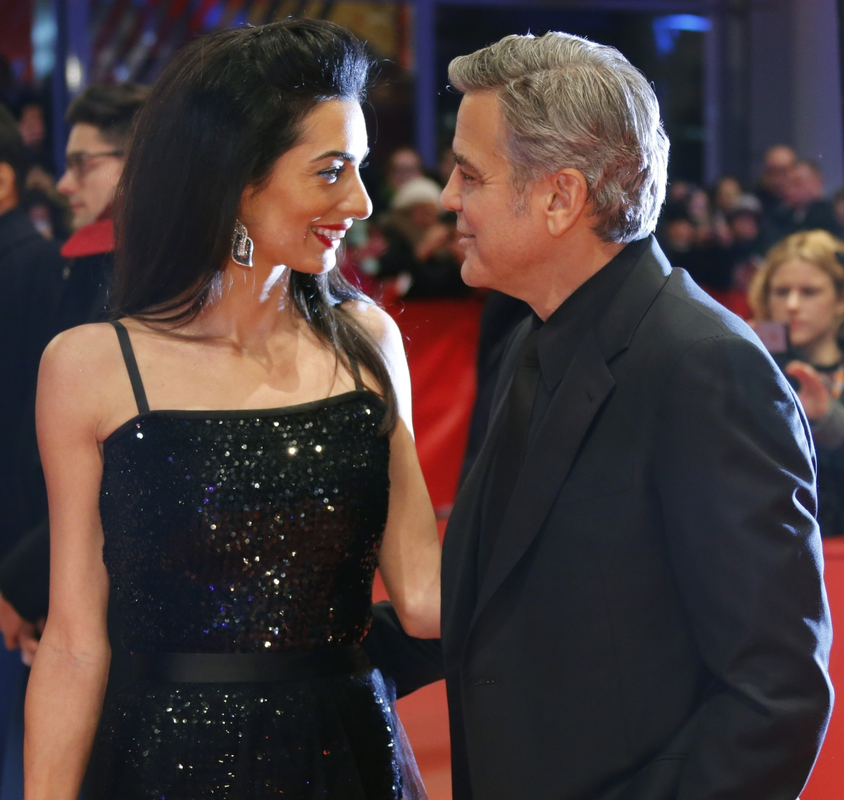 Amal Alamuddin-George Clooney: Actor shoots down pregnancy ...