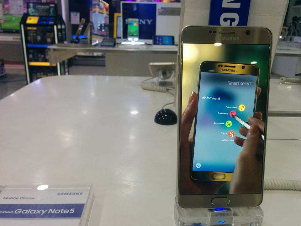 Samsung galaxy note 5 release date in Sydney