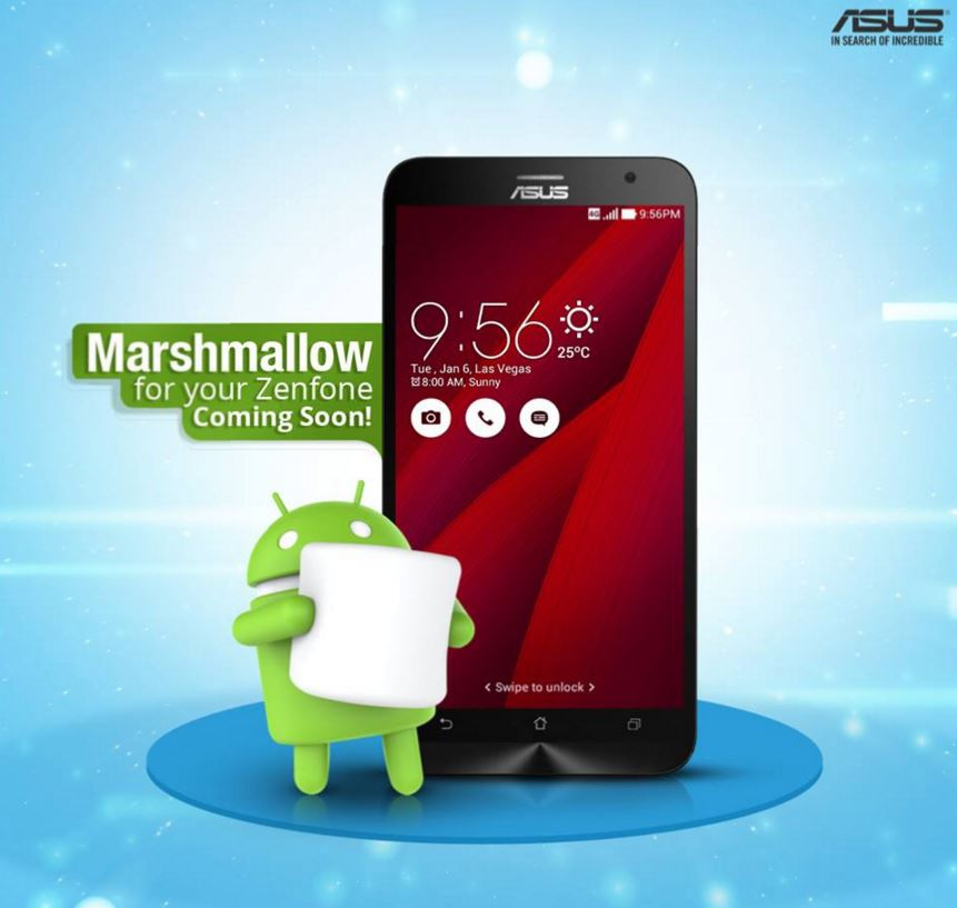 Asus Zenfone 2 Laser Gets Android Marshmallow Update