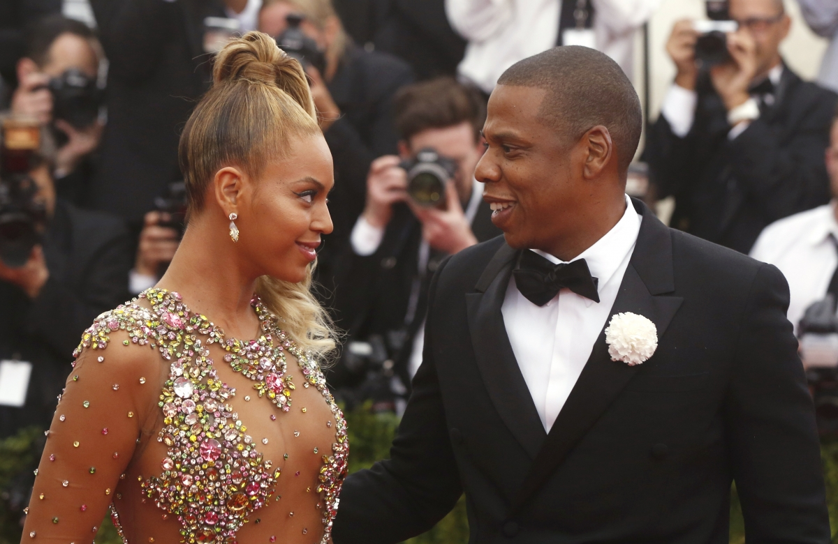 ... Jay-Z still managing to make time for each other after the birth of