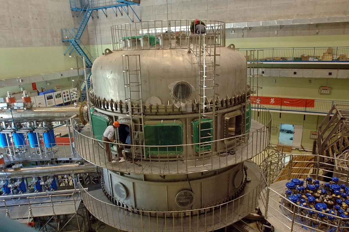 China Fusionsreaktor
