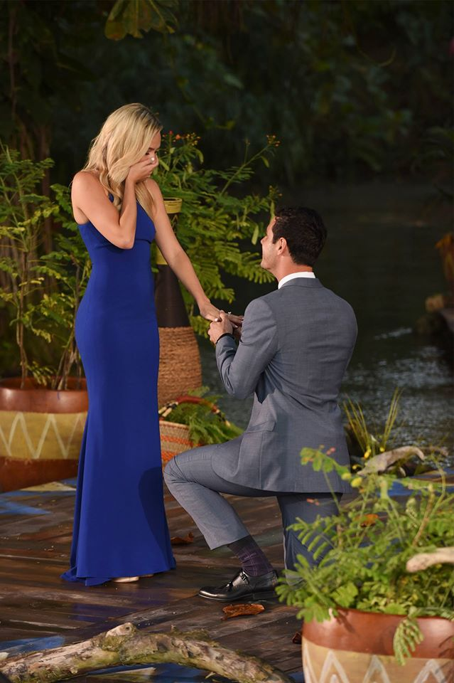 Ben Higgins Lauren Bushnell Amanda Stanton The Bachelor Abc
