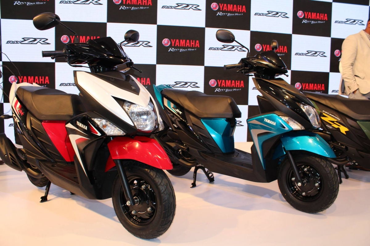 Yamaha Ray Zr Likely To Be Launched On April 14 In India