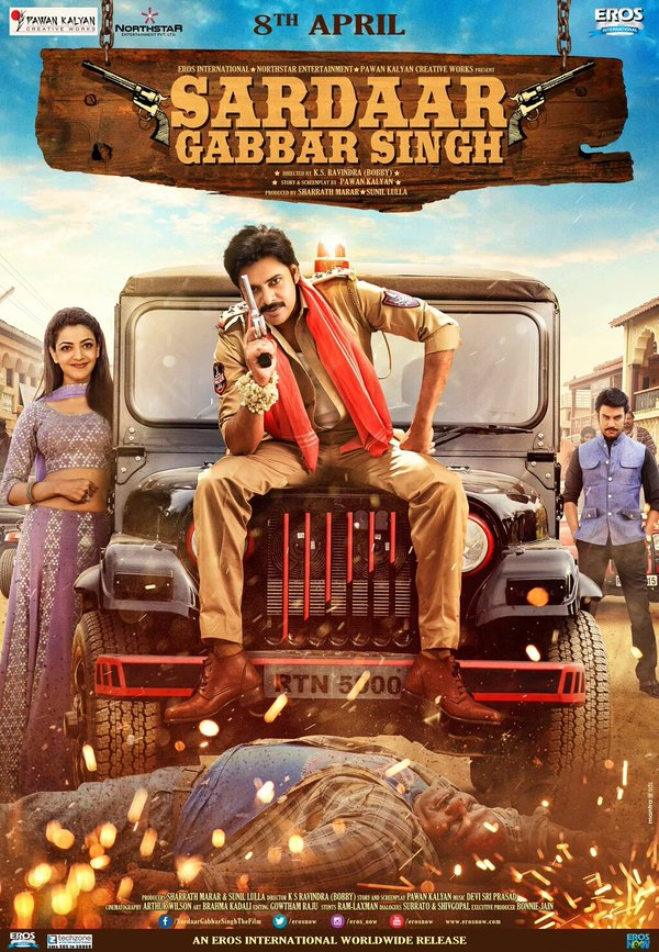 Sardaar Gabbar Singh (2016) 720p WEB-DL Rip x264 [Hindi+Telugu] – Mafiaking – M2Tv 1.3 Gb