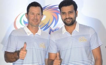 Ricky Ponting Rohit Sharma Mumbai Indians