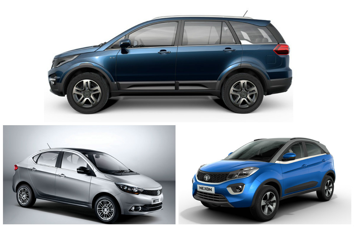 tata hexa mpv kite 5 sedan nexon compact suv launch. Black Bedroom Furniture Sets. Home Design Ideas