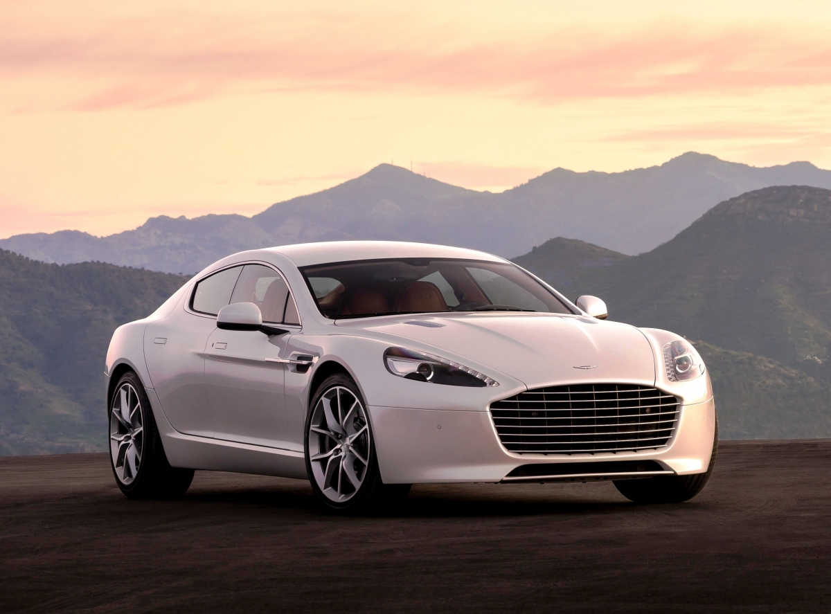 2016 Aston Martin Rapide Launched At Rs 3.29 Crore In India