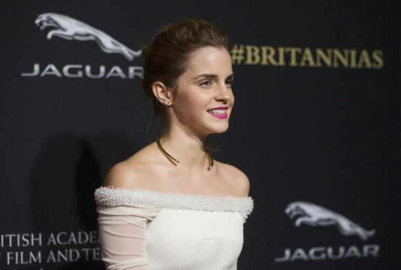 Emma Watson at the BAFTA Los Angeles Britannia Awards, 2014