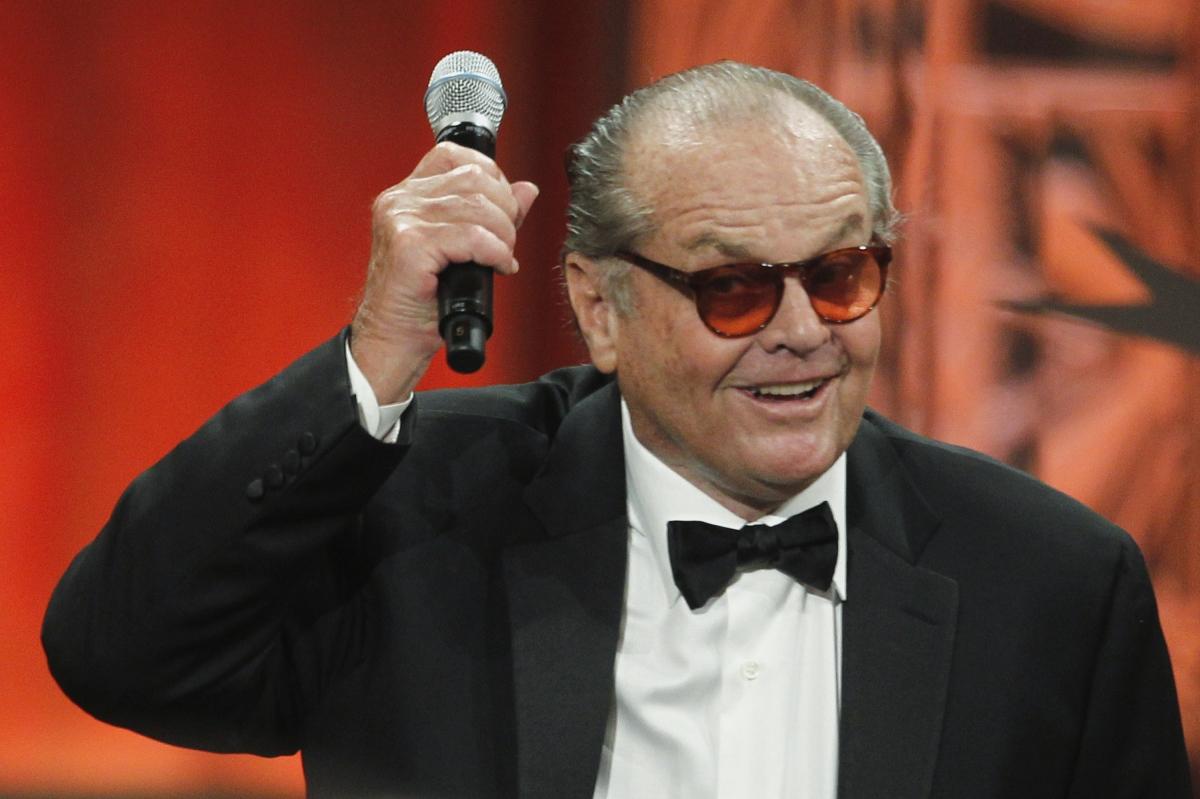 Jack Nicholson turns 7...