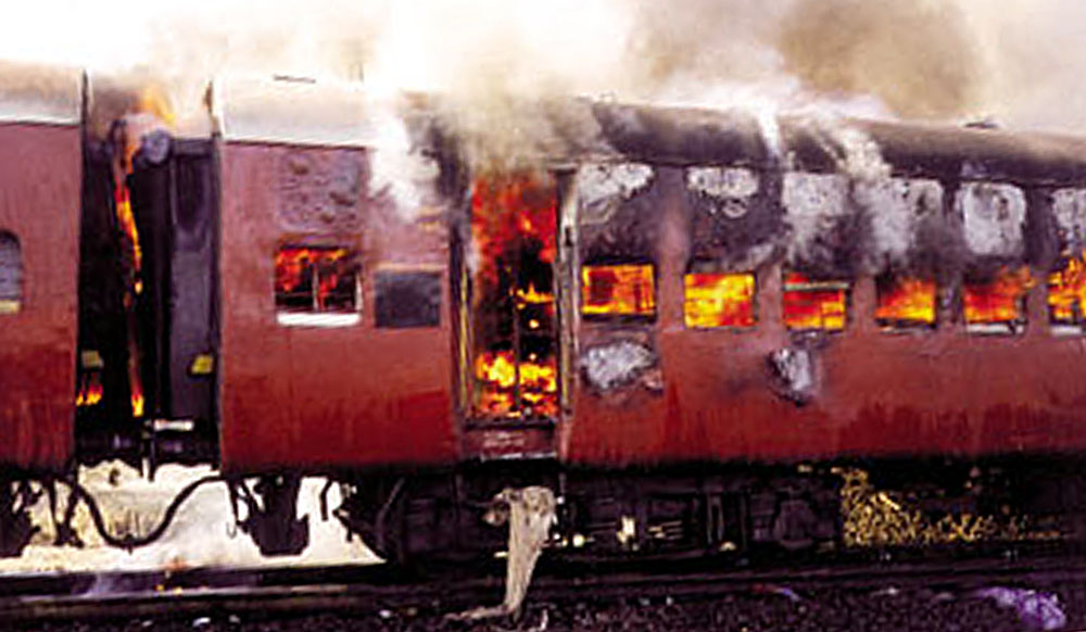 terrorism in the godhra train burning incident in 2002 The godhra train burning incident reuters fifty-nine 'karsevaks' were killed in the godhra train burning incident of 27 february 2002, which triggered the worst communal riots in the history of gujarat killing over a thousand people farooq bhana, who was arrested near godhra in may 2016, has been described by the police as a key conspirator.