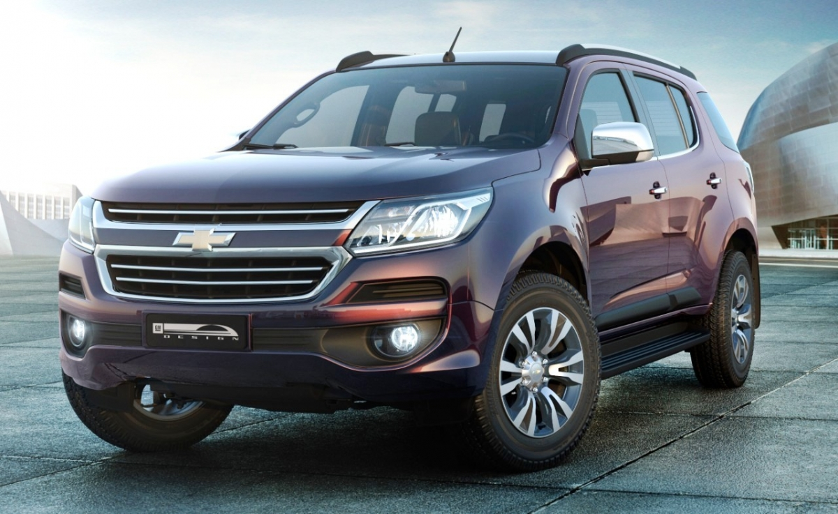 New Chevrolet Trailblazer 2017 due for India launch during ...