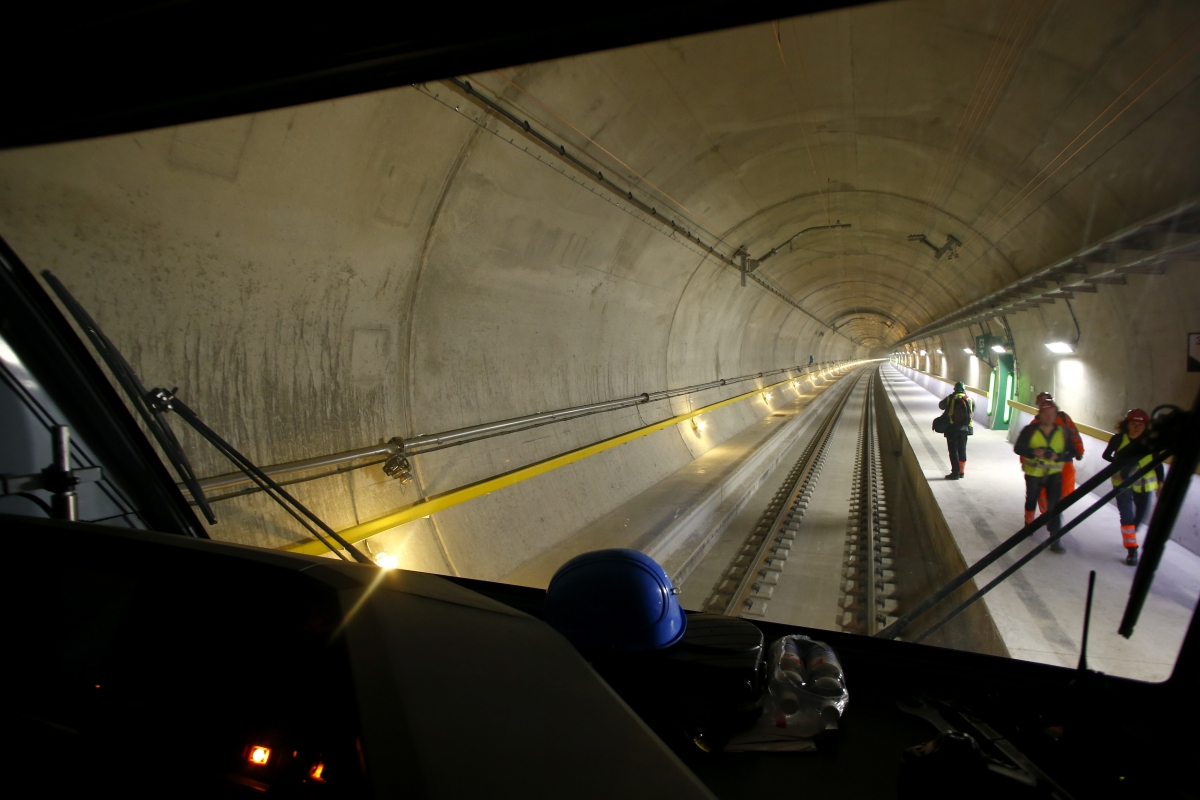 In Pictures: World's longest and most expensive tunnel