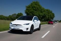 Tesla Model X first drive review: Part SUV, part spaceship