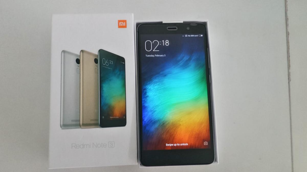Xiaomi redmi note 4 pro 4gb 32gb snapdragon 652