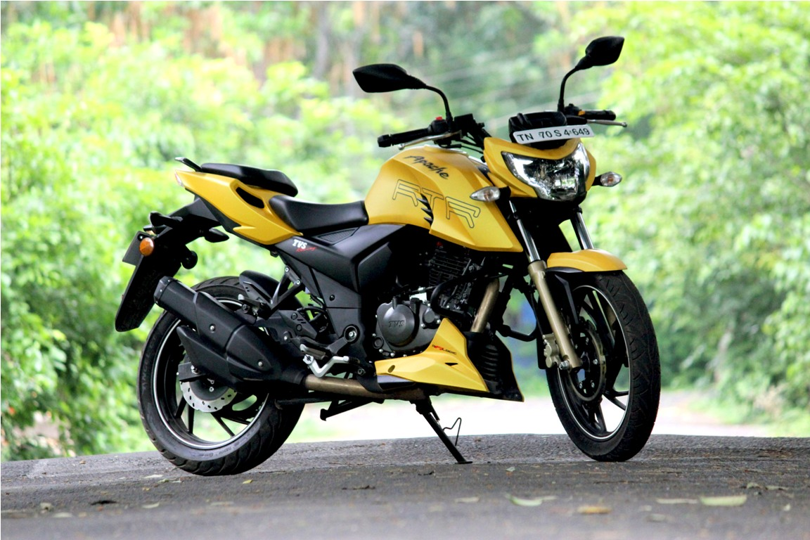 TVS Apache RTR 200 4V With FI, ABS Version Deliveries