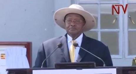 Uganda president repeatedly refers to Israel as Palestine during Benjamin Netanyahu visit